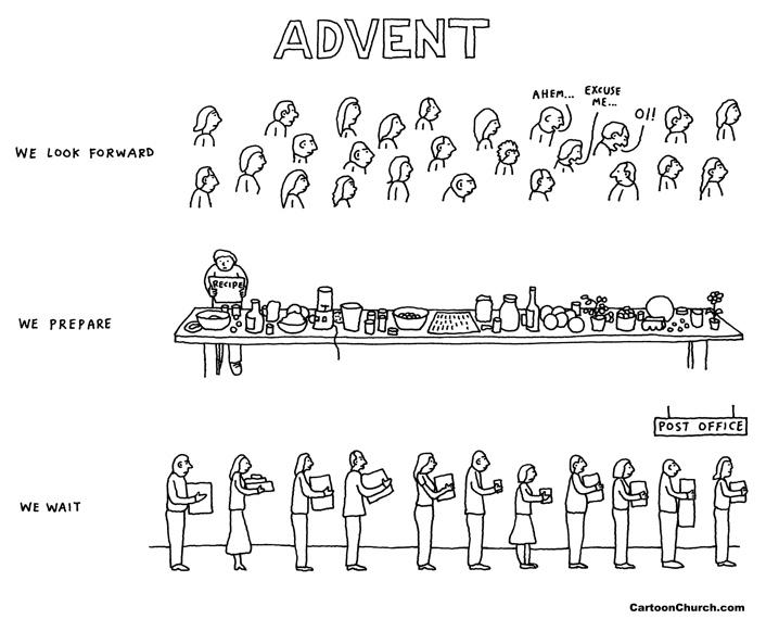 Advent Cartoon