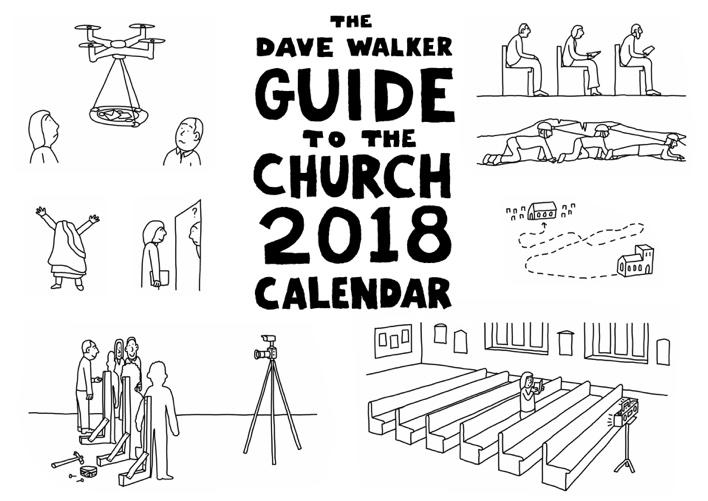 Dave Walker Calendar 2018