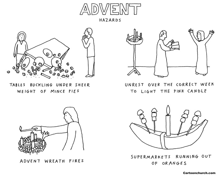 Advent cartoon