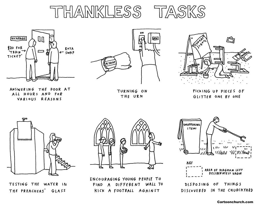 Thankless tasks