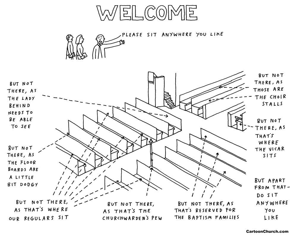 welcome cartoon