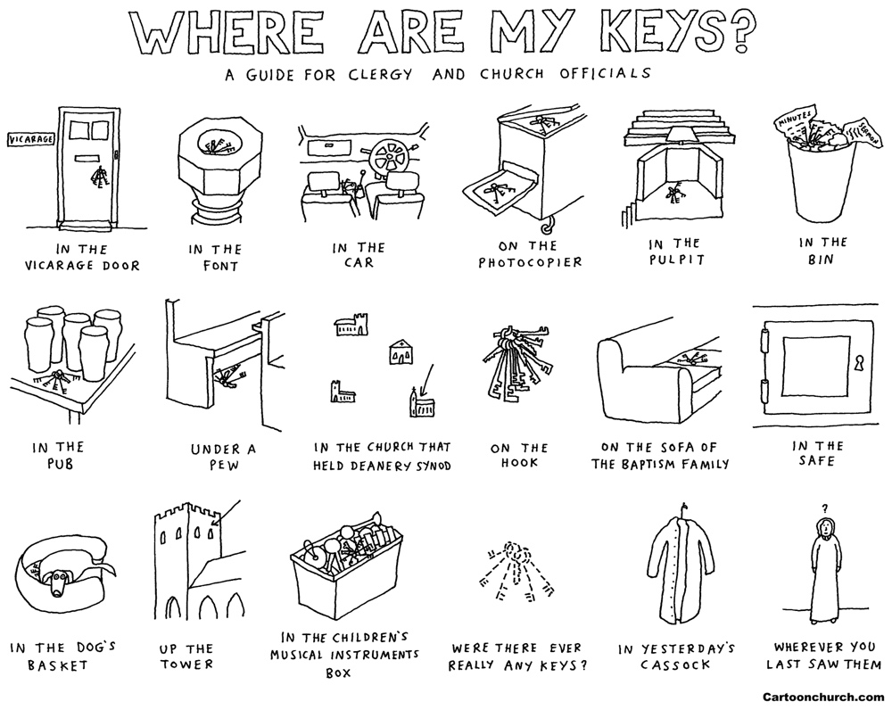 Where are my keys