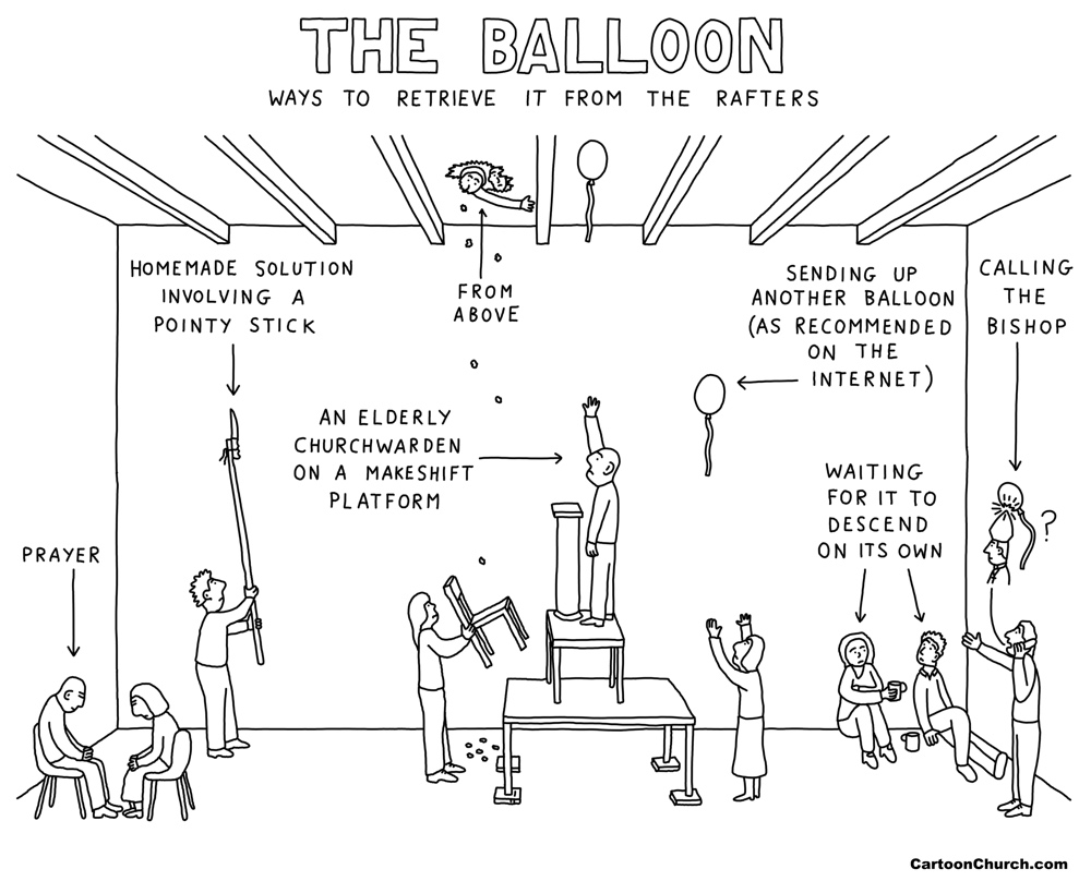 Balloon cartoon