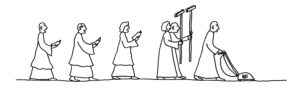 cleaning-procession