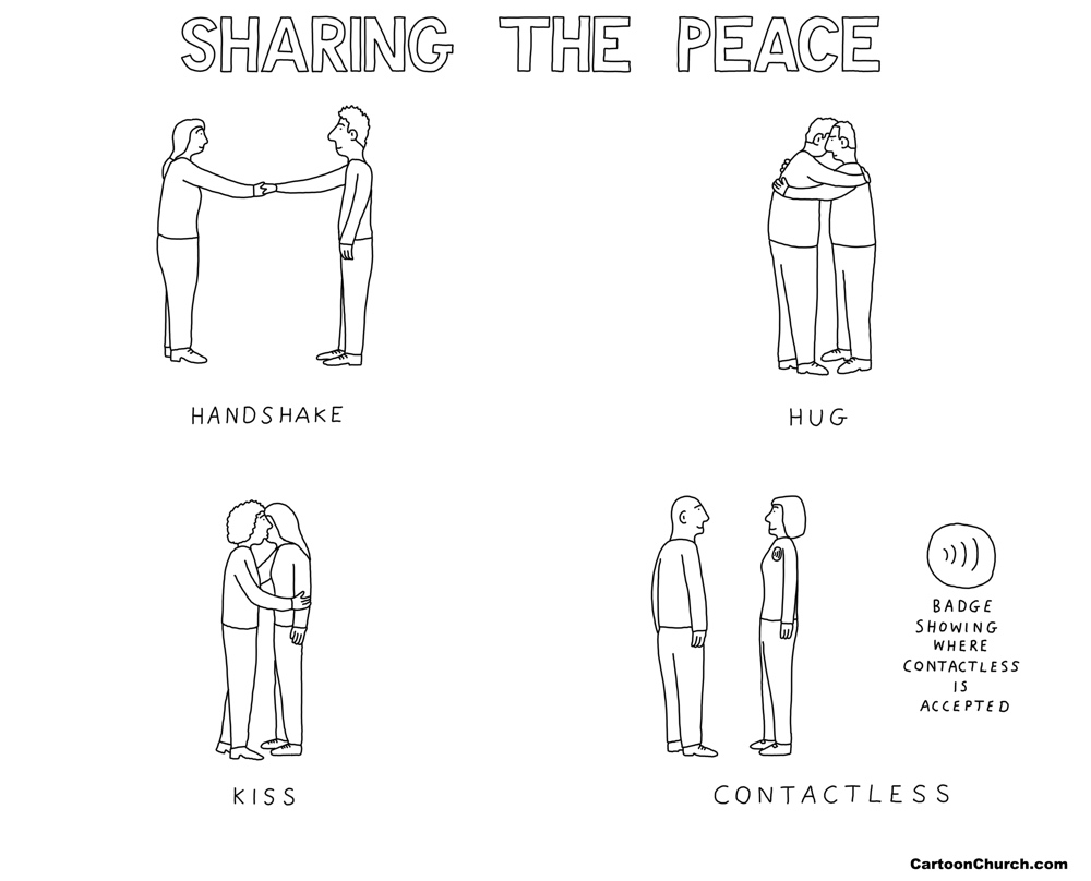 Sharing the peace