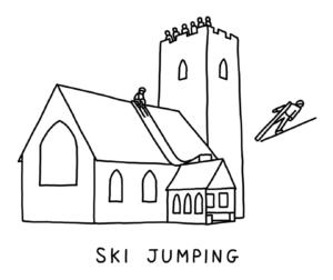 ski-jumping