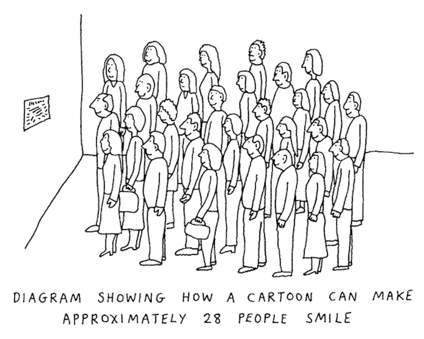 How ro make people smile cartoon